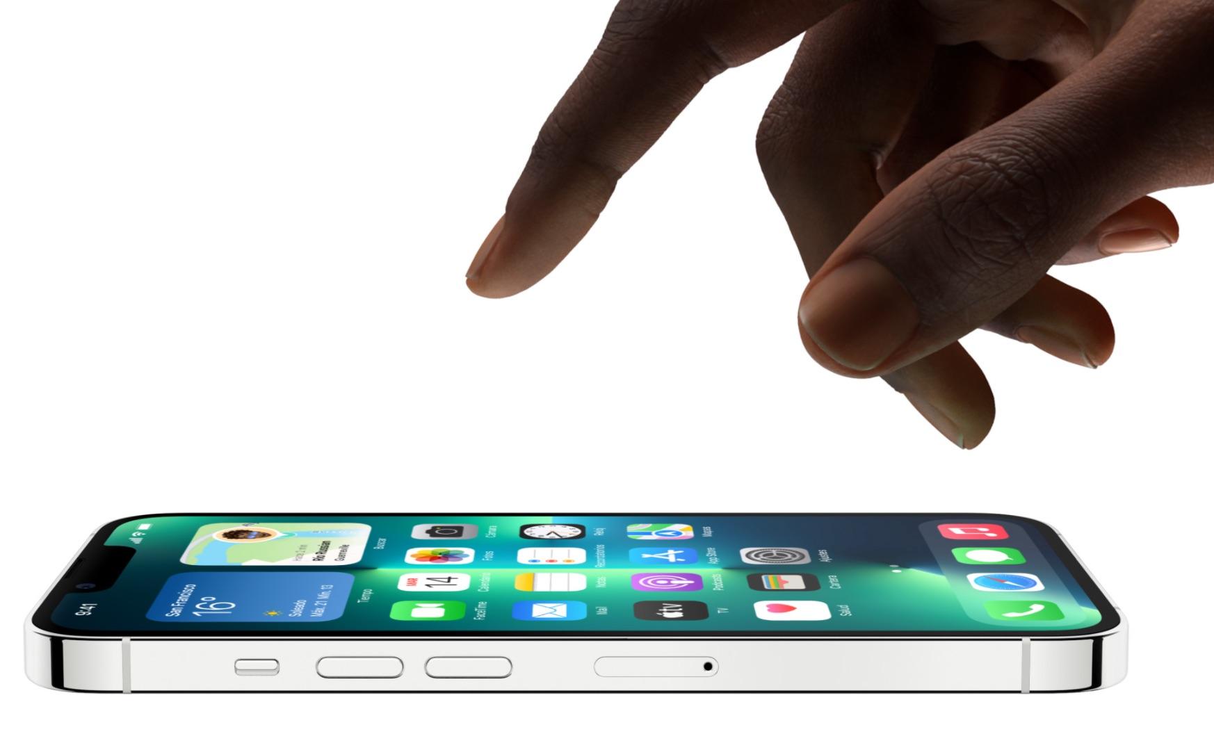 ProMotion a 120 Hz en la pantalla del iPhone 13 Pro