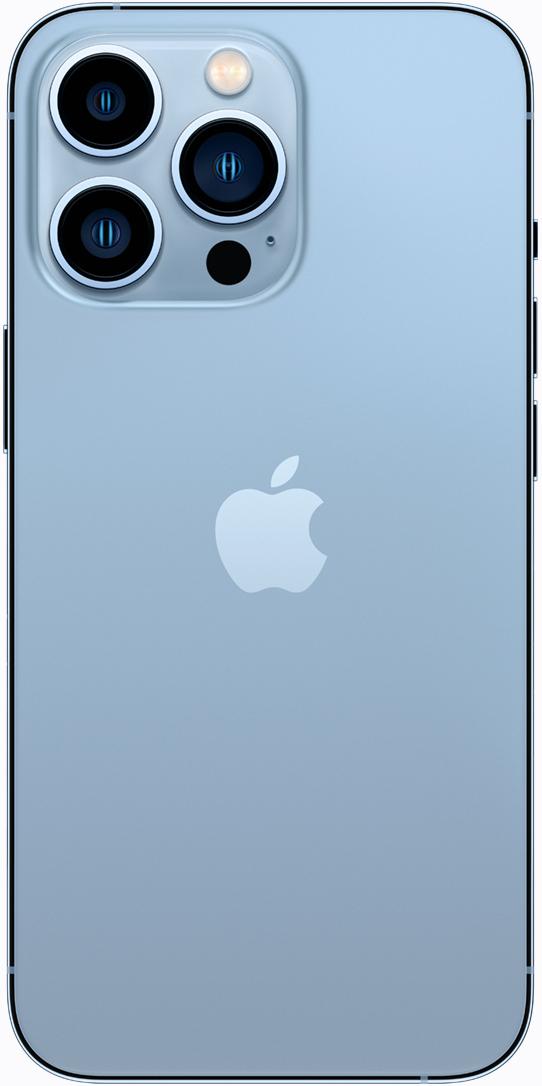 iPhone 13 Pro en color azul alpino