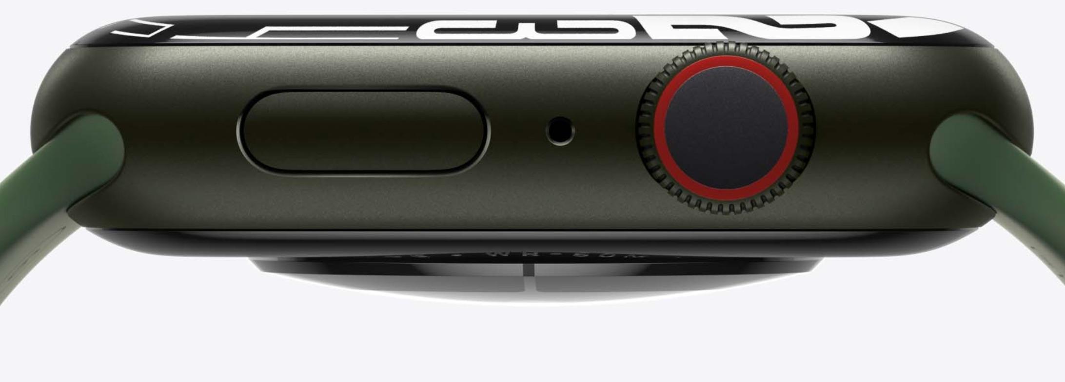 Apple Watch Series 7 en verde