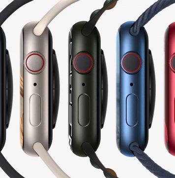 Apple Watch Series 7 en todos sus colores