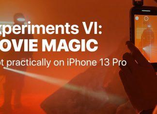 Efectos de vídeo grabados con un iPhone 13 Pro