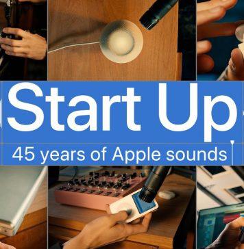 45 años de sonidos de productos de Apple