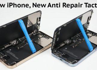 Problemas en las reparaciones de iPhone, con piezas no programadas por Apple