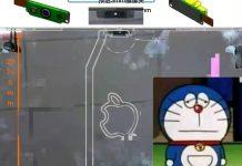 Supuestos componentes de la solapa del nuevo MacBook Pro
